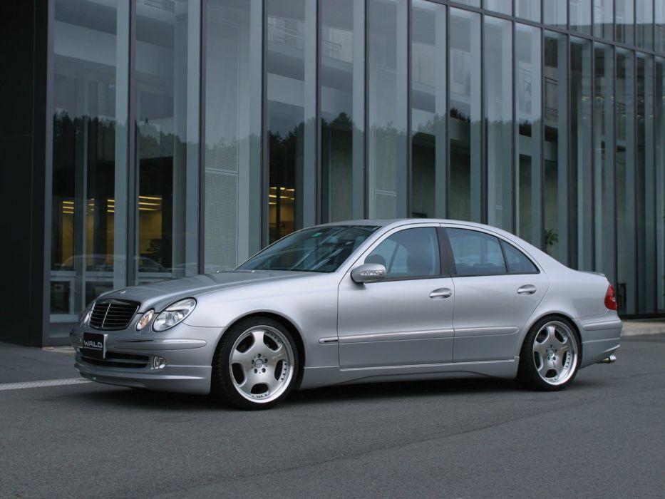WALD INTERNATIONAL Mercedes-Benz E-class (W211) cars modified 2010 wallpaper