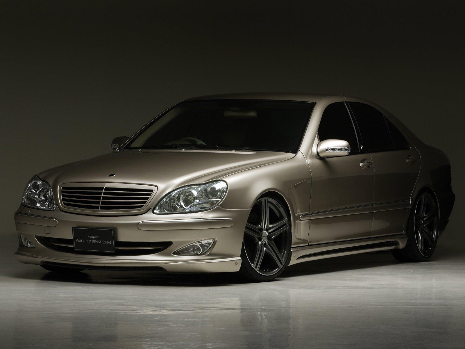 WALD INTERNATIONAL Mercedes-Benz S-Class (W220) cars ...