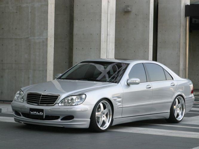 WALD INTERNATIONAL Mercedes-Benz S-Class 7 3-Kompressor (W220) cars modified 2002 wallpaper