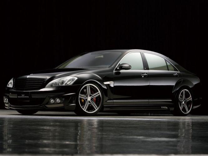 WALD INTERNATIONAL Mercedes-Benz S-Class Black Bison Edition Sports Line (W221) cars modified 2005 wallpaper