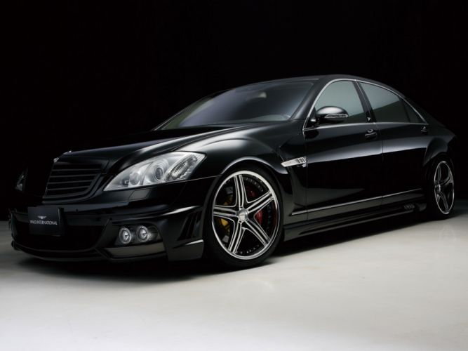 WALD INTERNATIONAL Mercedes-Benz S-Class Black Bison Edition Sports Line (W221) cars modified 2005 wallpaper