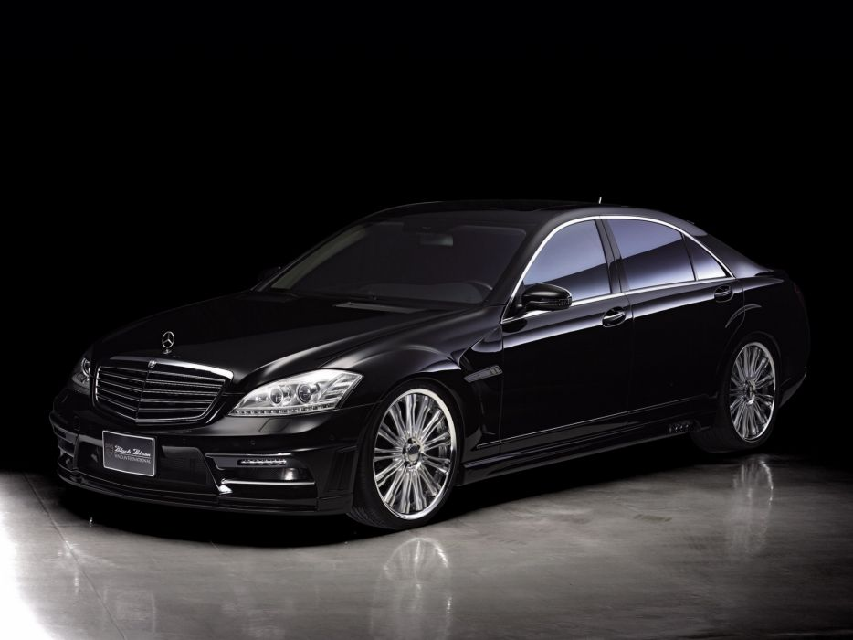 WALD INTERNATIONAL Mercedes-Benz S-Class Black Bison Edition Sports Line (W221) cars modified 2010 wallpaper
