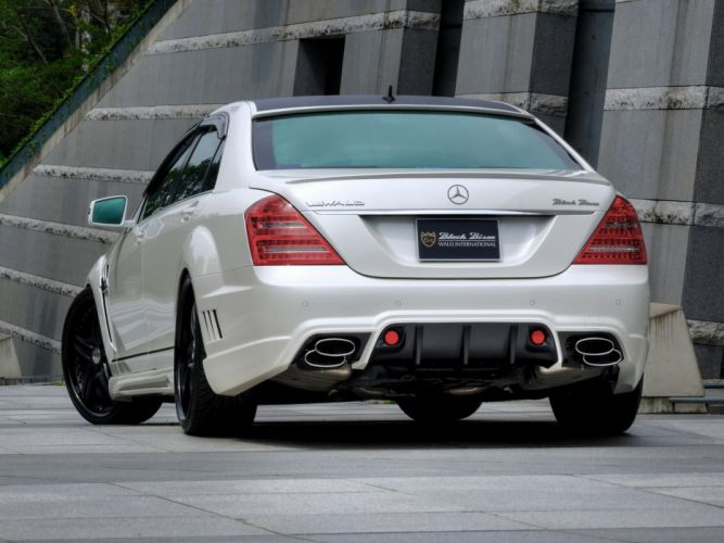 WALD INTERNATIONAL Mercedes-Benz S-Class Black Bison Edition Sports Line (W221) cars modified 2010 wallpaper