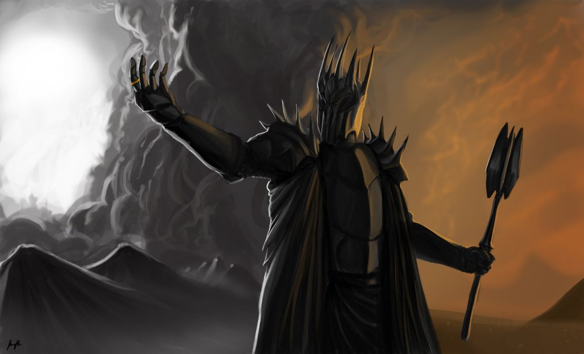 Arts Lord Of The Rings Dark Lord Sauron Wallpaper