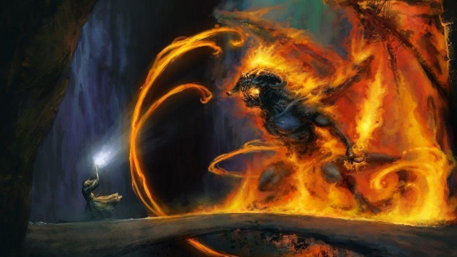 Arts magic lord of the rings gandalf wallpaper