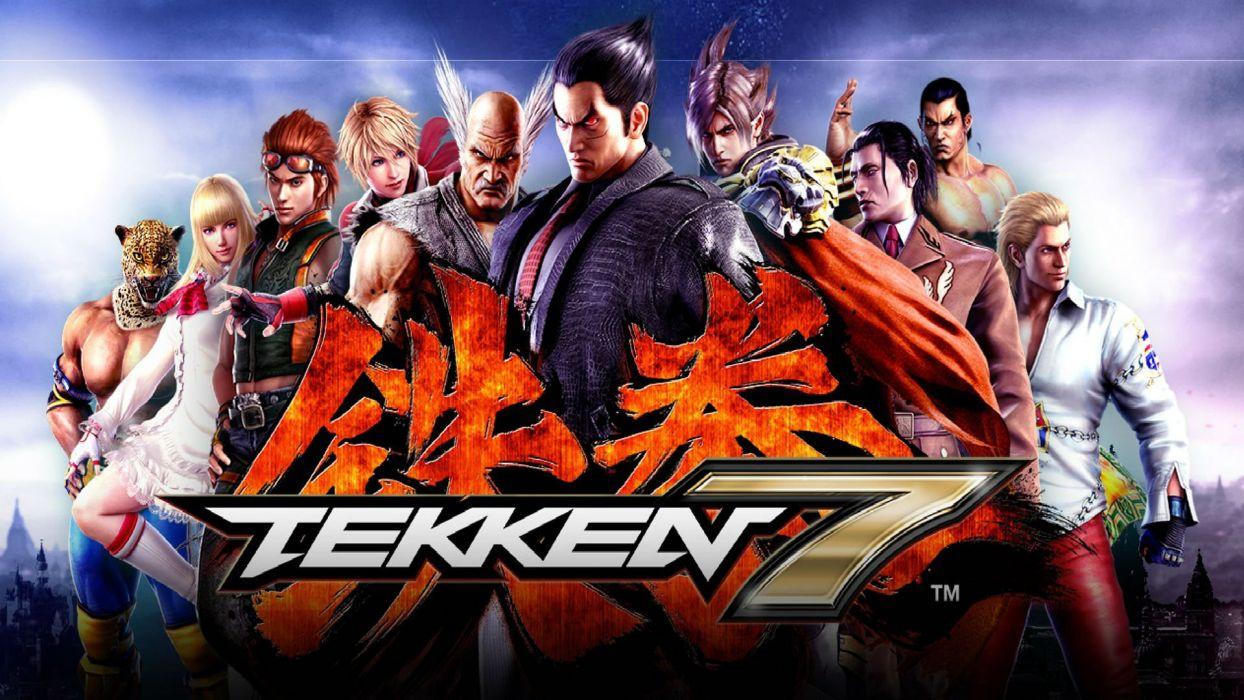TEKKEN 7 action arena fighting martial arts kung warrior 1tek7 seven poster wallpaper