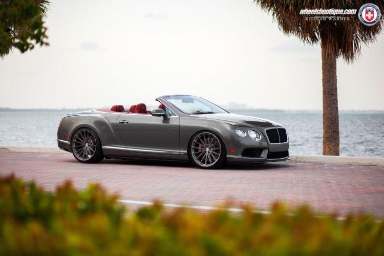 Bentley Continental GTC HRE wheels cars convertible wallpaper