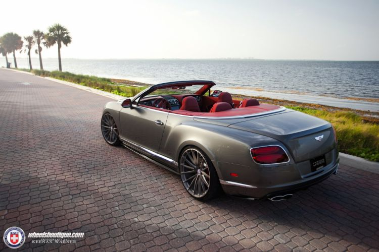 Bentley Continental GTC HRE wheels cars convertible wallpaper