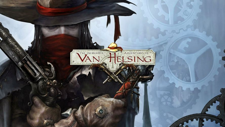 INCREDIBLE ADVENTURES VAN HELSING dark action fantasy rpg shooter 1iavh vampire gothic noir warrior horror poster wallpaper