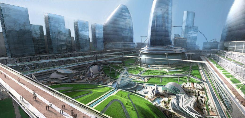 HYDROPHOBIA PROPHECY survival horror adventure 1hprop sci-fi futuristic action dark city cities wallpaper