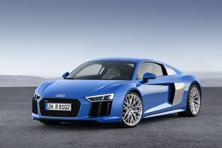 Audi-R8 V10 coupe cars 2015 wallpaper