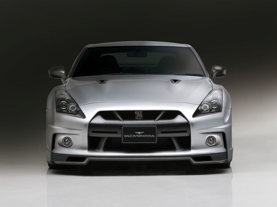 WALD INTERNATIONAL Nissan GT-R Sports Line (R35) cars modified 2008 wallpaper
