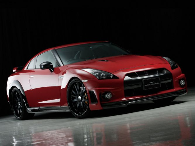 WALD INTERNATIONAL Nissan GT-R Sports Line (R35) cars modified 2008 wallpaper