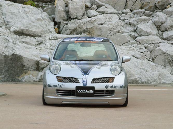 WALD INTERNATIONAL Nissan March micra 3-door cars modified 2003 wallpaper