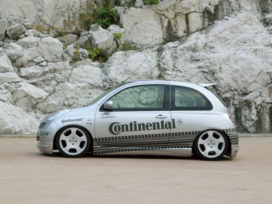 WALD INTERNATIONAL Nissan March micra 3-door cars modified 2003 wallpaper