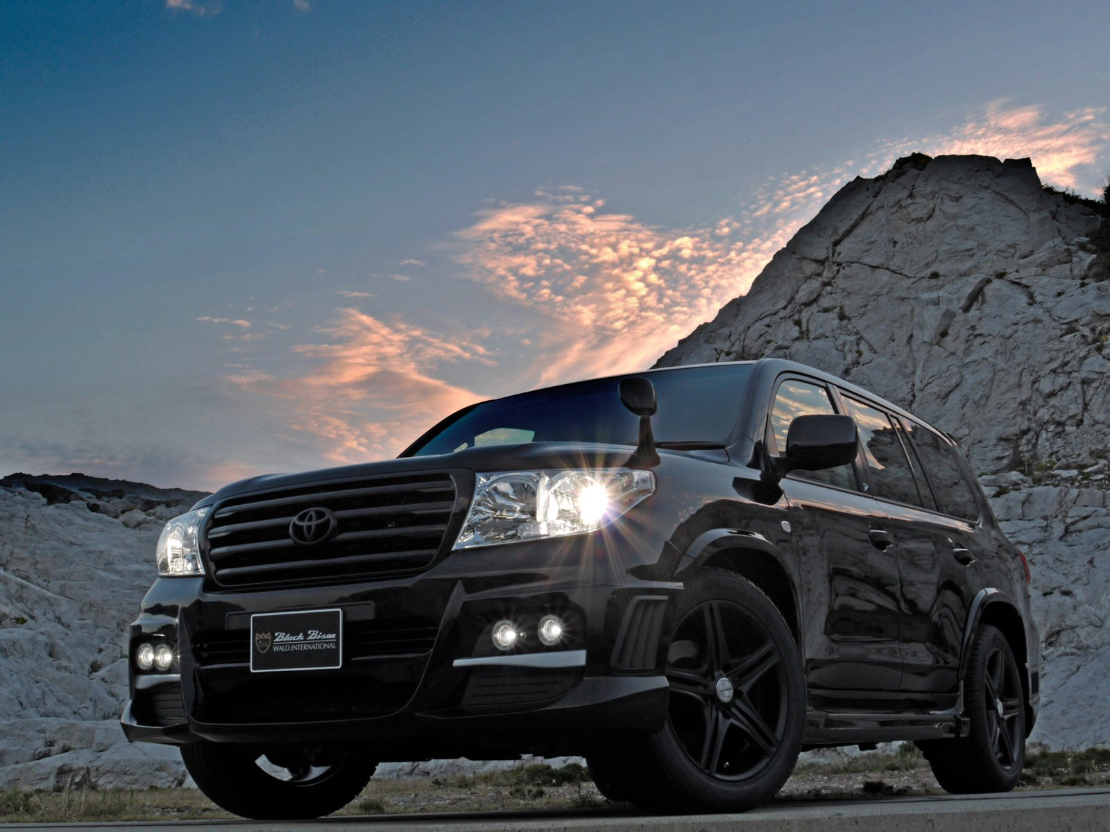 Wald International Toyota Land Cruiser 200 Black Bison