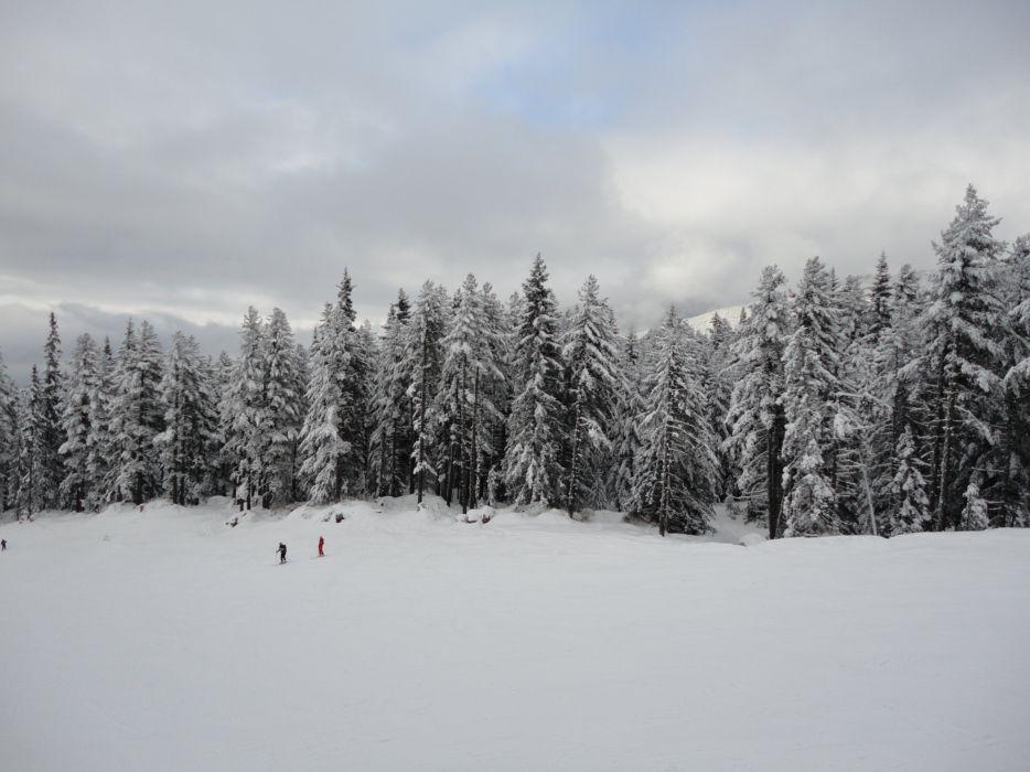 Bansko Ski Lift Snow Winter wallpaper
