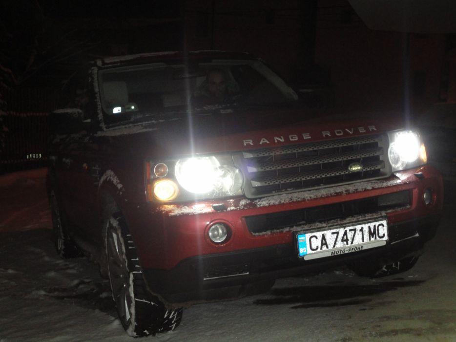 Range Rover snow offroad Sofia Bulgaria winter wallpaper