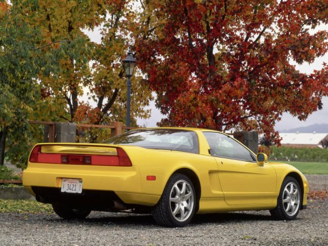 Acura NSX-T cars coupe 1995 wallpaper