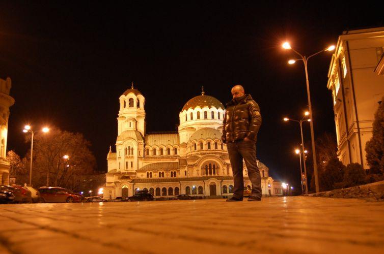 Sofia Bulgaria Aleksander Nevski church Ata Sot wallpaper