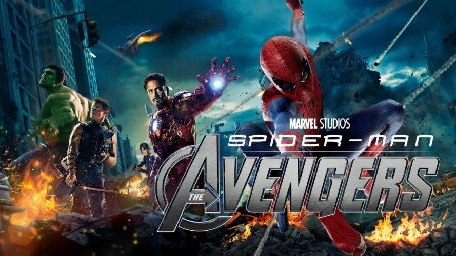 SPIDER-MAN superhero marvel spider man action spiderman poster avengers wallpaper