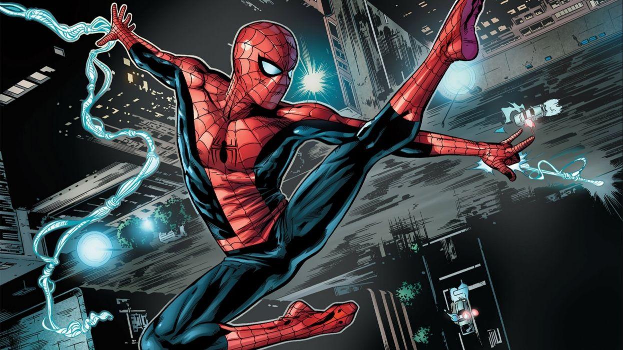 Spider Man Iron Man And Vulture UHD K Wallpaper Pixelz