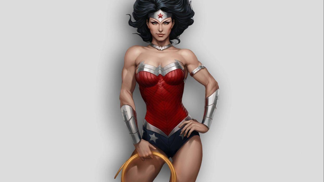 WONDER WOMAN superhero girl sexy babe girls wallpaper