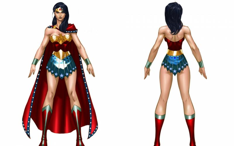 WONDER WOMAN superhero girl sexy babe girls wallpaper