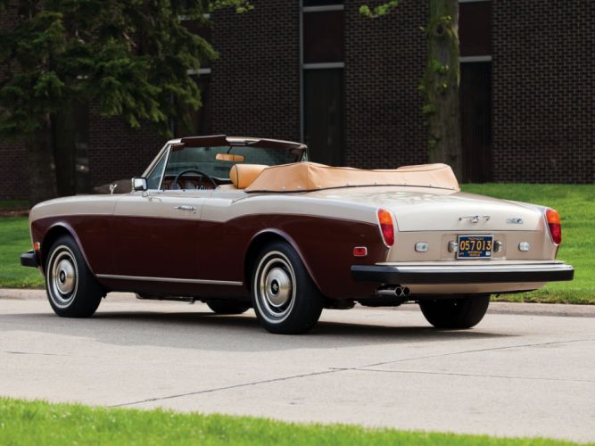 rolls-Royce Corniche Drophead Coupe cars 1978 wallpaper
