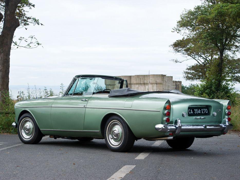 Rolls-Royce Silver Cloud Mulliner Park Ward Drophead Coupe UK-spec (III) car 1966 wallpaper