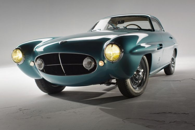 Fiat-8V Supersonic cars Coupe ghia 1953 wallpaper