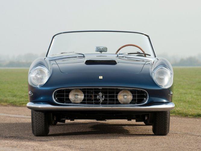 Ferrari 250-GT Cabriolet (Series I) 1958 cars wallpaper