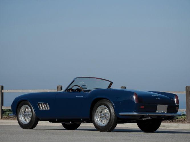 Ferrari 250-GT California Spyder Passo Lungo 1958 cars wallpaper