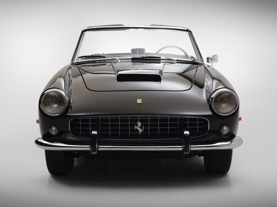 Ferrari 250-GT Cabriolet (Series II) cars 1959 wallpaper