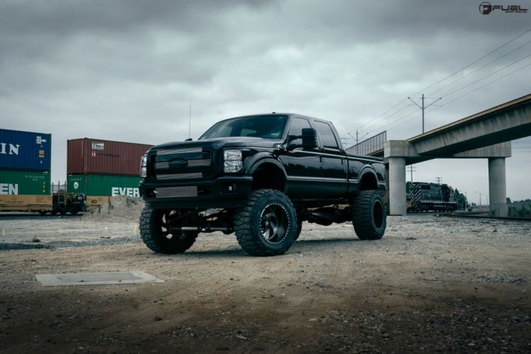 Luxury Wheels Ford F-350 cars pickup wallpaper
