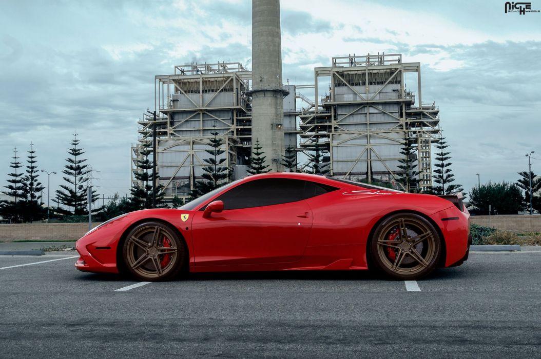 Luxury Wheels Ferrari 458 Speciale cars coupe wallpaper