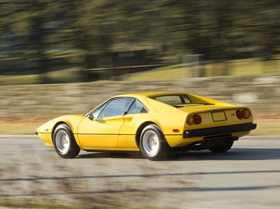 Ferrari 308 GTB US-spec coupe cars 1976 wallpaper