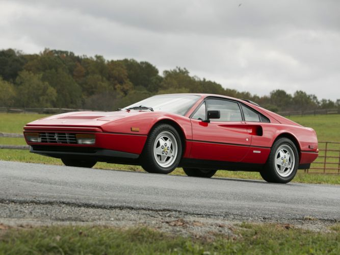 Ferrari 328 GTB coupe cars 1985 wallpaper