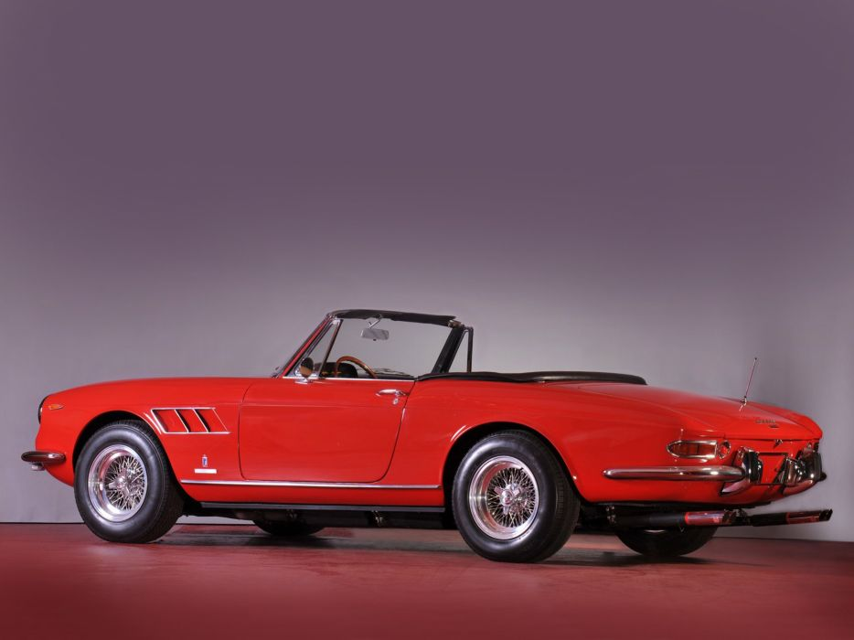 Ferrari 330 GTS coupe cars 1966 wallpaper