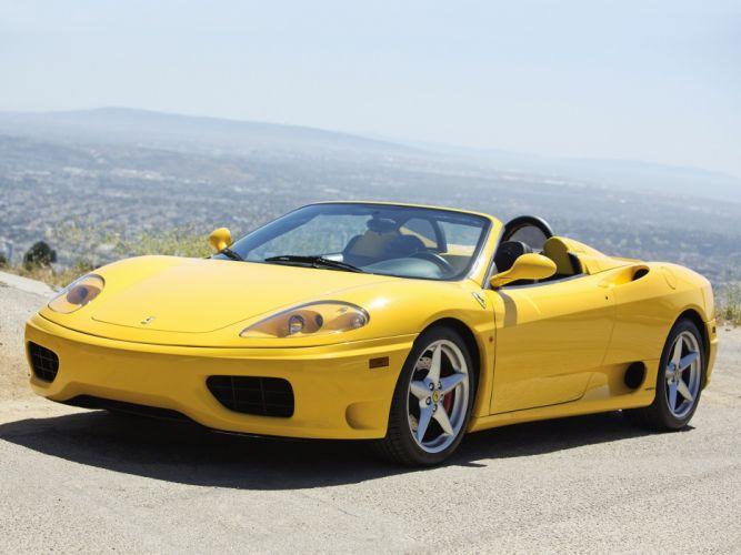 Ferrari 360 Spider cars 2000 wallpaper