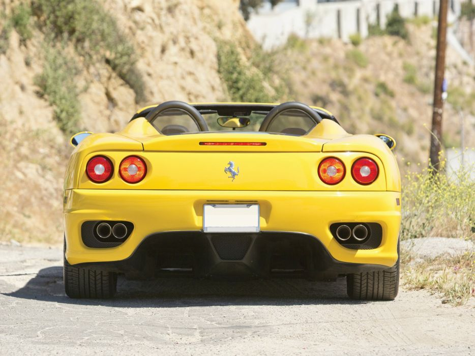 Ferrari 360 Spider cars 2000 wallpaper
