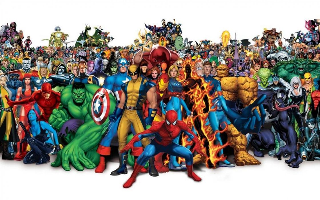 MARVEL COMICS superhero hero wallpaper