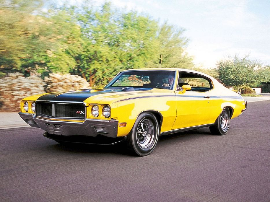 1970 Buick GSX coupe cars muscle wallpaper
