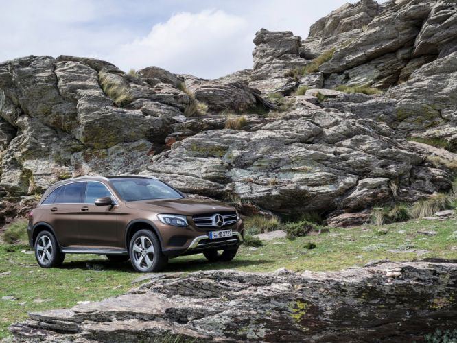 2016 cars GLC Mercedes-Benz suv 250-d 4matic wallpaper