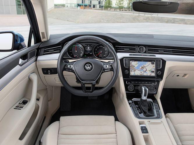 Volkswagen Passat GTE 2015 sedan cars electric wallpaper