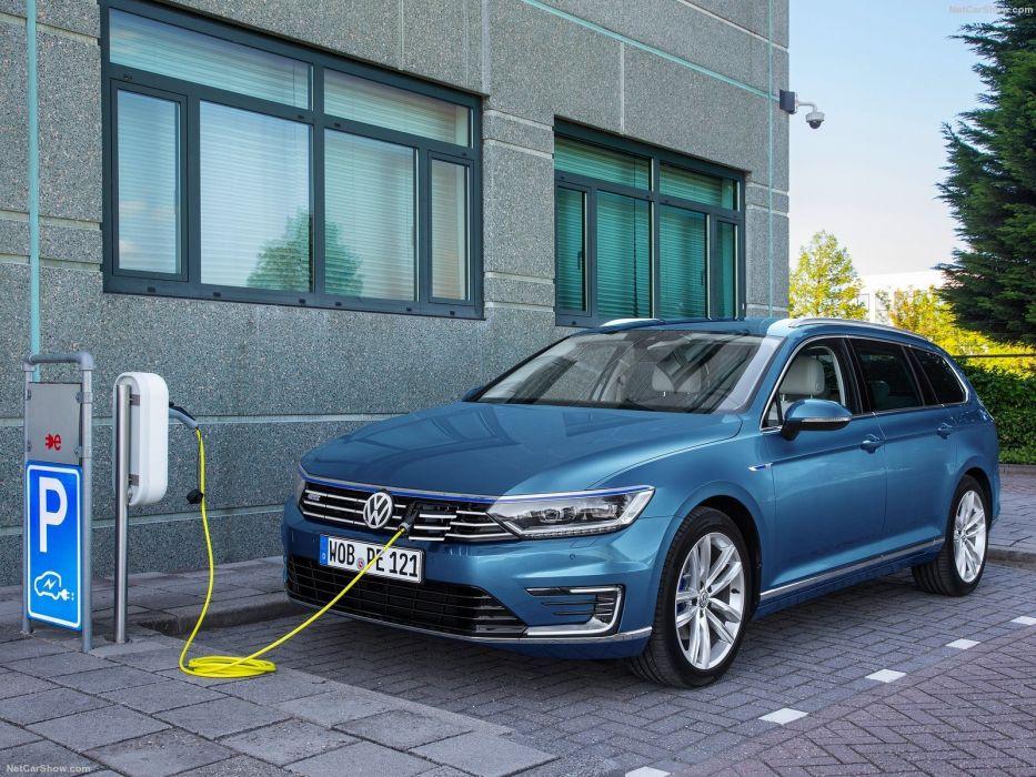 Volkswagen Passat Gte 2015 Wagon Cars Electric Wallpaper 1600x1200