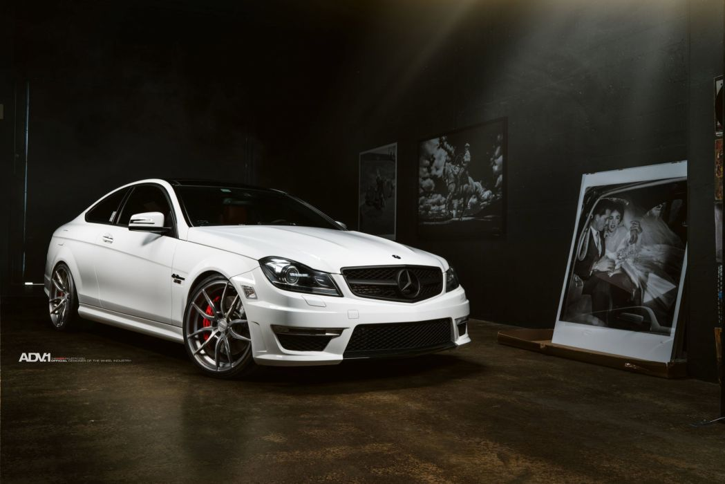 ADV 1 WHEELS GALLERY MERCEDES C63 RENNTECH cars wallpaper