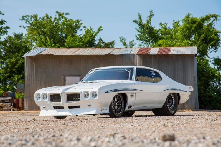 1972 Pontiac LeMans cars drag modified wallpaper