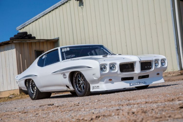 1972 Pontiac LeMans cars drag modified wallpaper