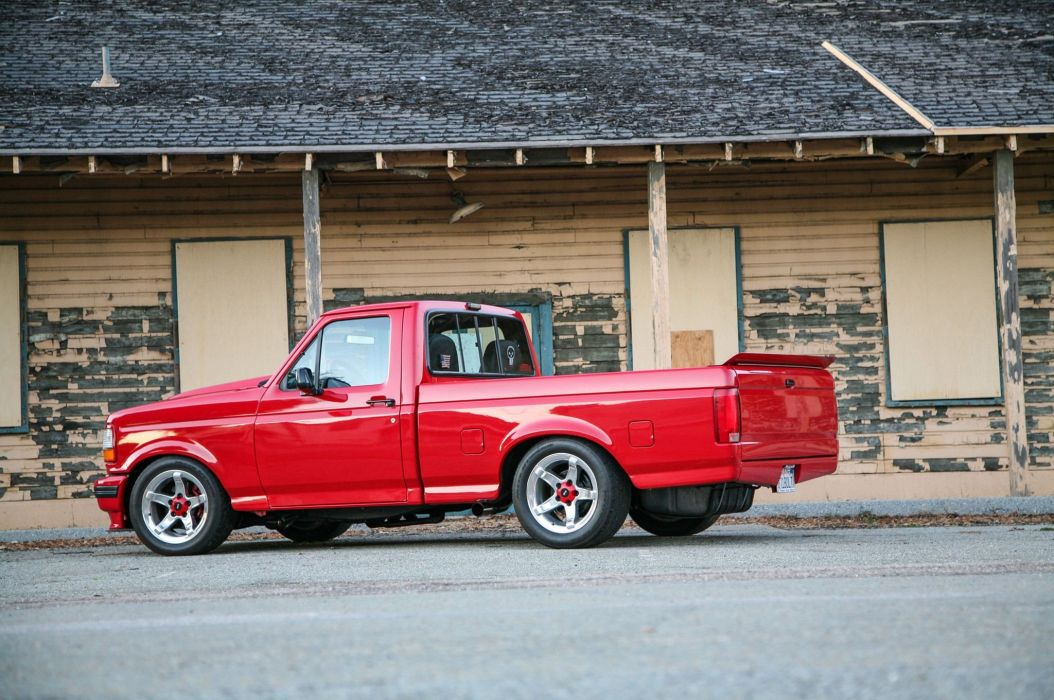 1993 Ford F-150 pickup cars modified wallpaper